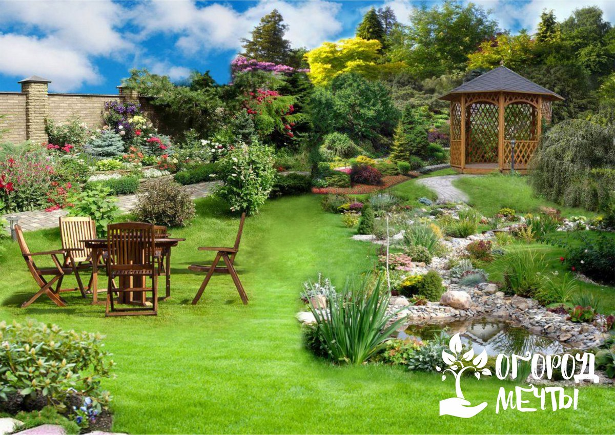 Основные принципы и приёмы фэн-шуй для сада
