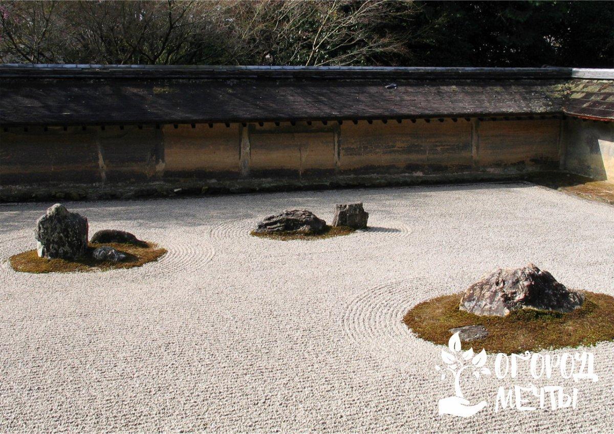 Уход за каменным садом