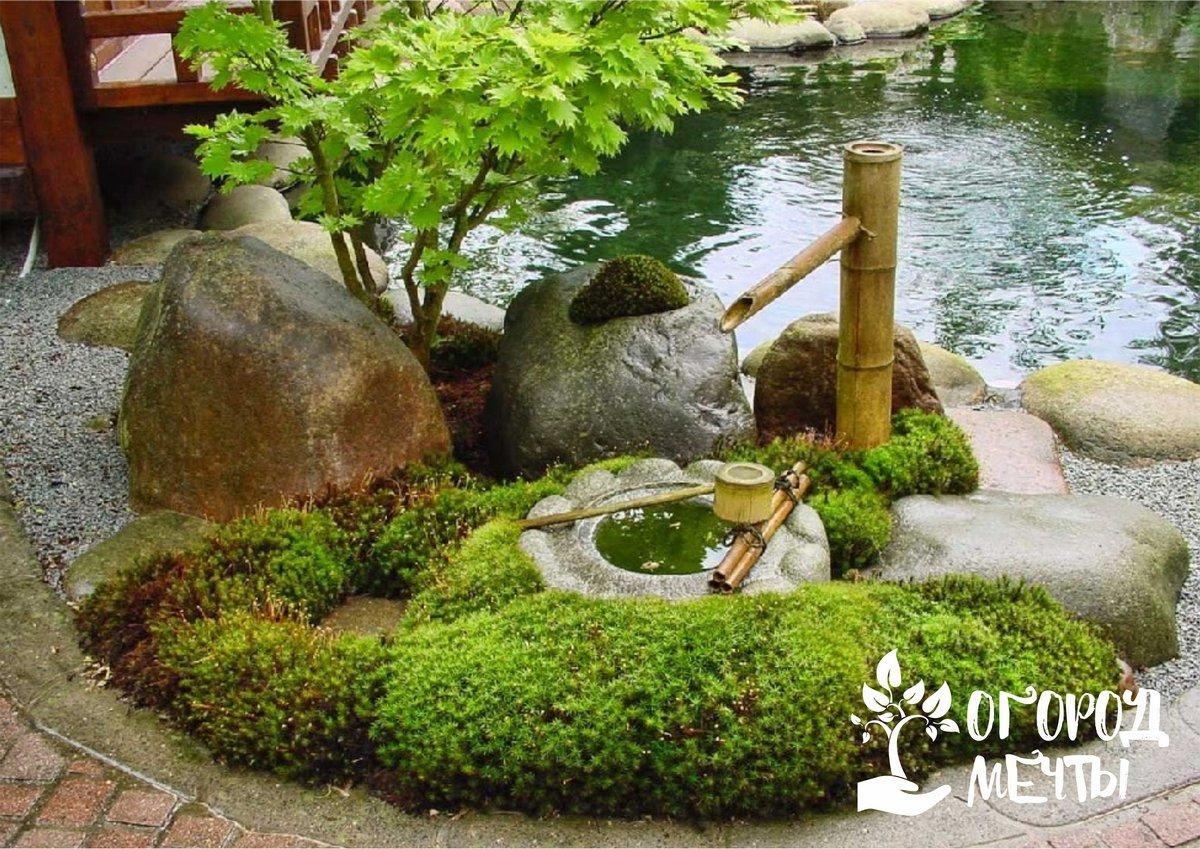 Дорожки в японском каменном саду
