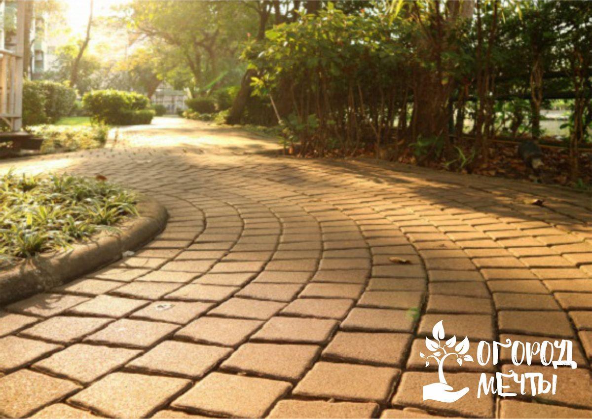 Бордюры садовых тропинок: стильное оформление и лучшие материалы
