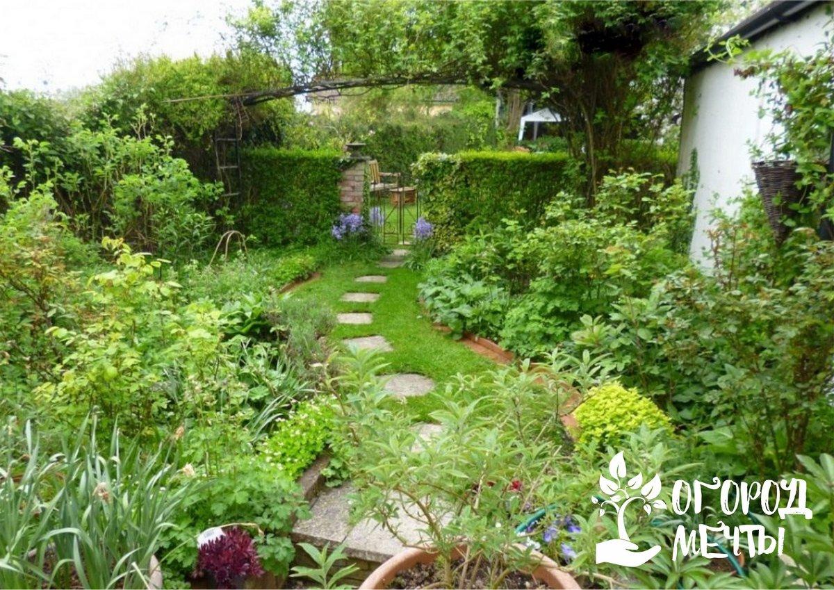 Особенности садов в деревенском стиле