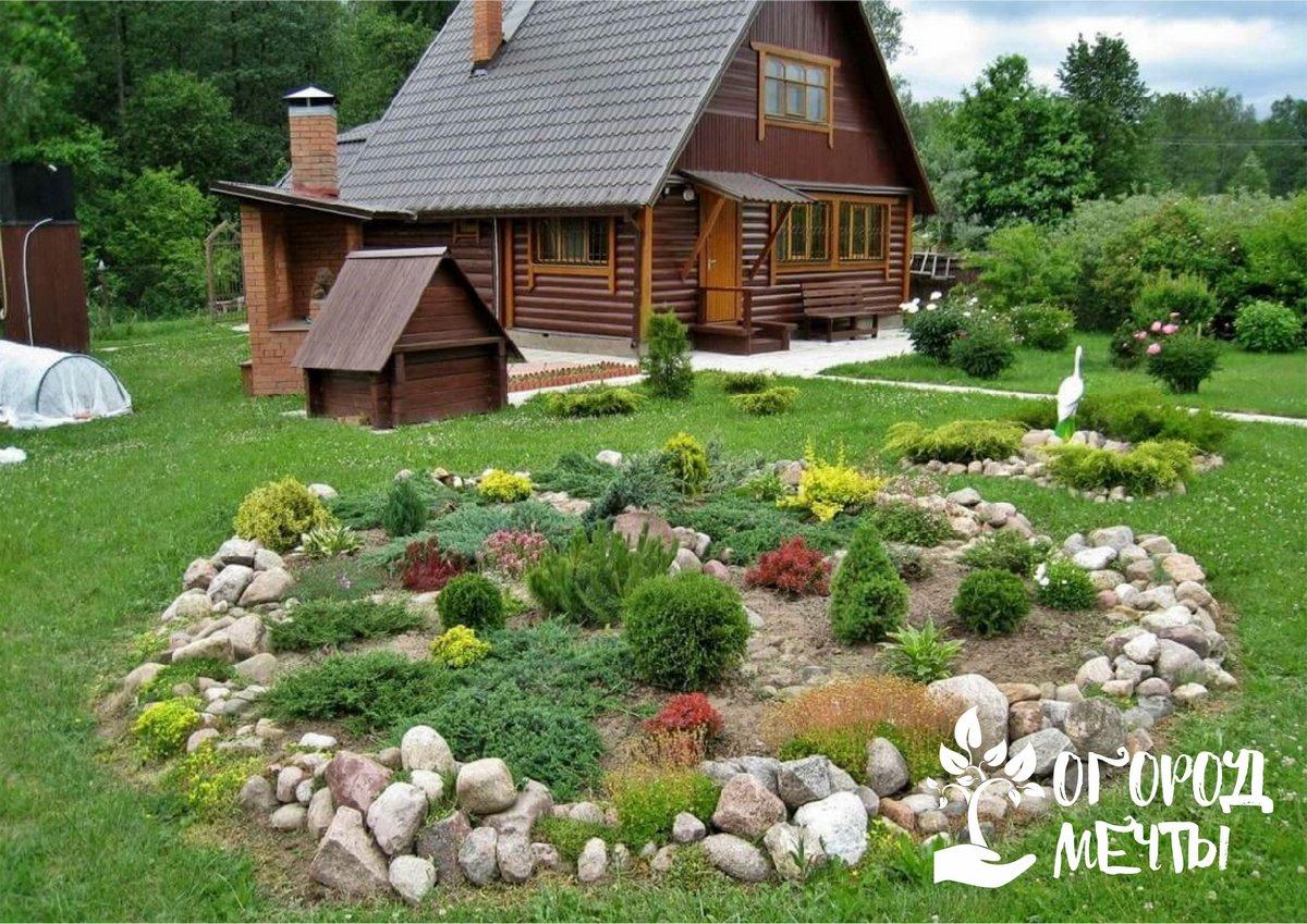 Декорирование деревенского сада