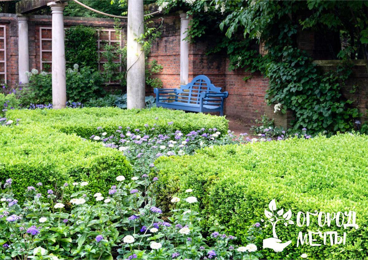 Как оформить сад в винтажном английском стиле: особенности коттеджного дизайна