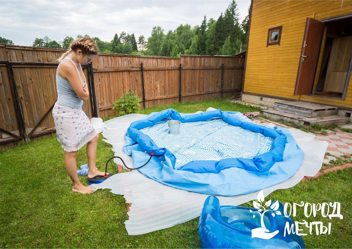 Отдых на дачном участке: как выбрать лучший вариант бассейна для загородного отдыха
