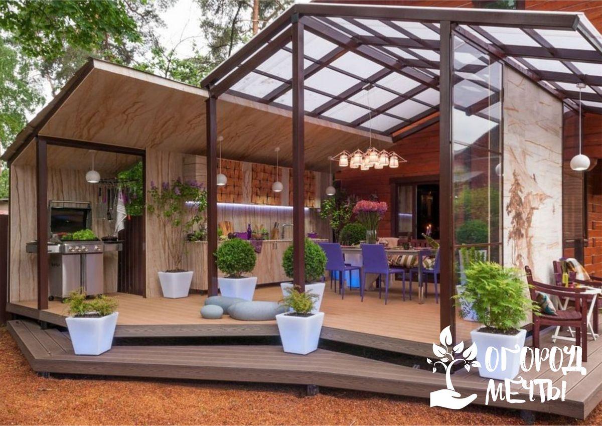 Как украсить террасу и патио: выбираем растения для ветреных, затененных и солнечных локаций