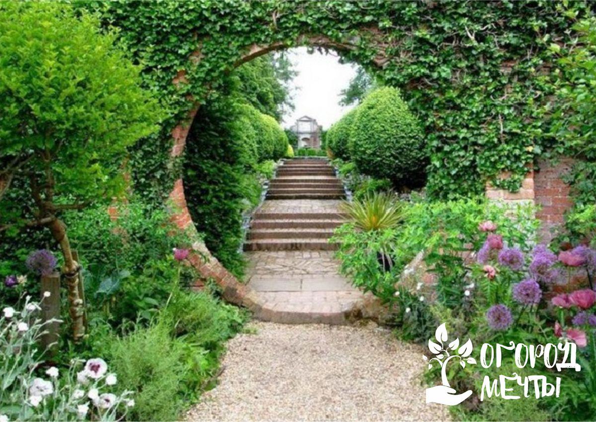 Стиль модерн в саду: отличительные особенности и оформление композиции