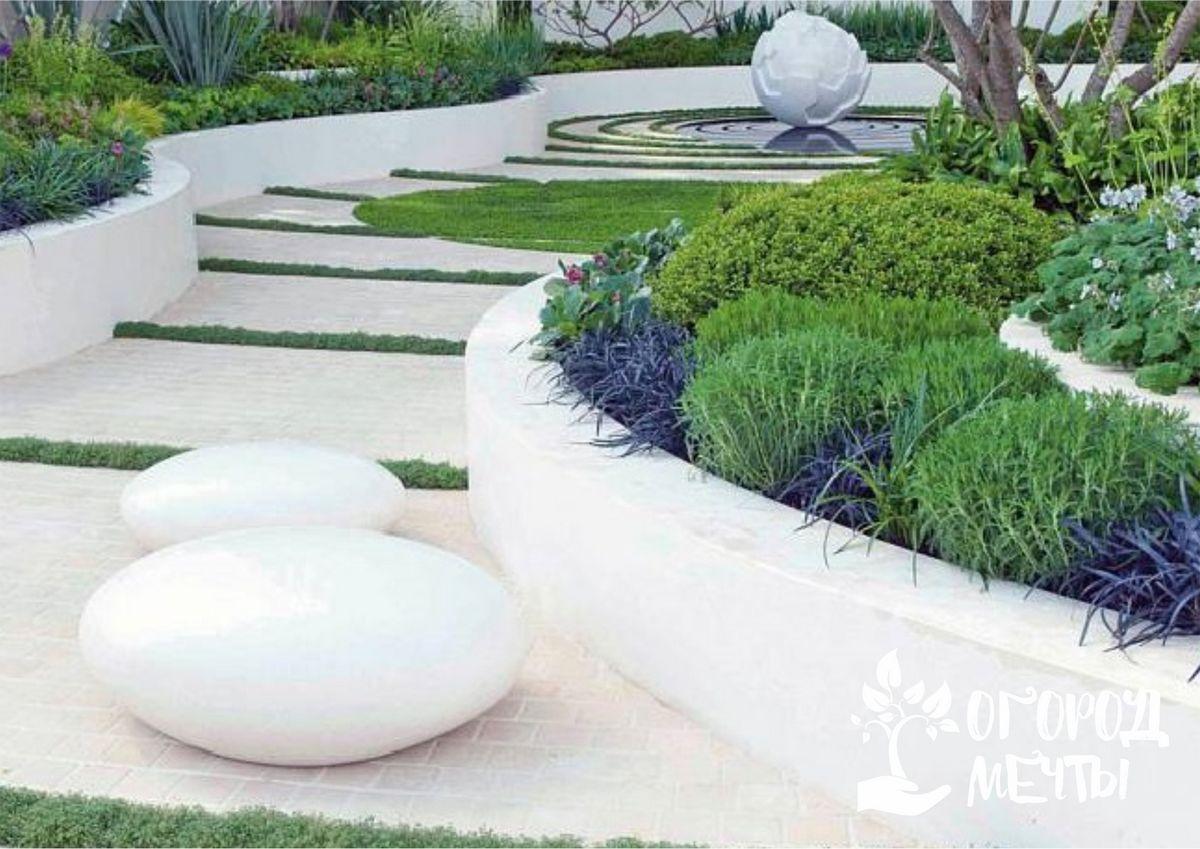 Как оформить дачный сад в стиле модерн: топ-8 ярких особенностей