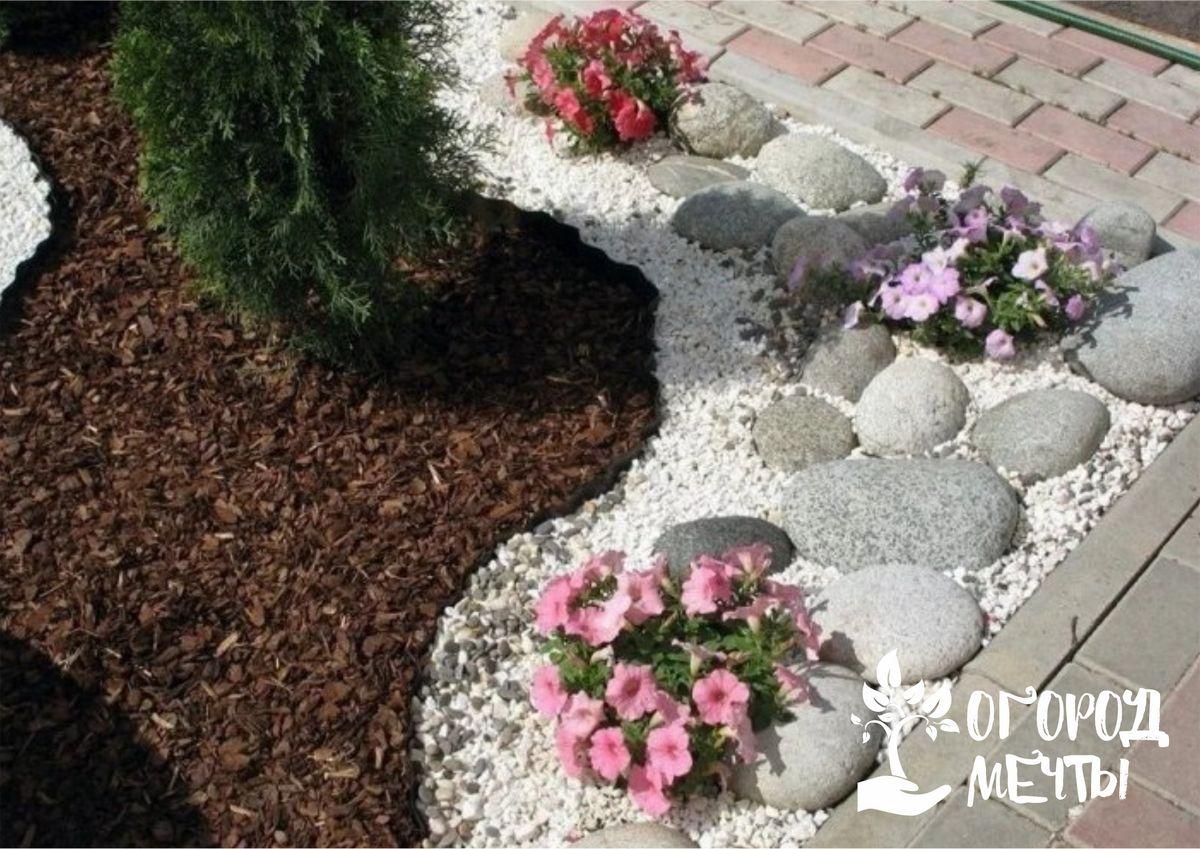 Простой и доступный способ быстро украсить дачный участок: как использовать керамзит и мелкий гравий в ландшафтном дизайне